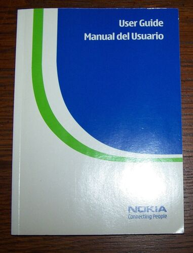 Nokia 6060 & Nokia 6061 User Guide 9242242 - English & Spanish - Excellent