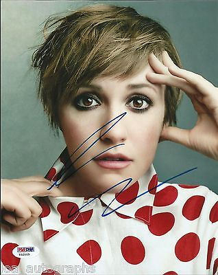 Lena Dunham Hand Signed 8X10 Photo Hbo Girls  2 Psa Dna Coa