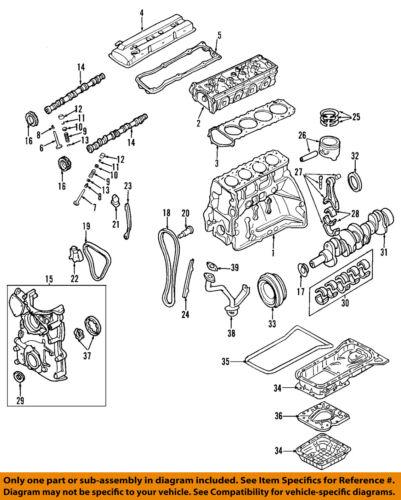 Nissan Oem 02 06 Altima Pan Oleo Do Motor 111103z011 Ebay