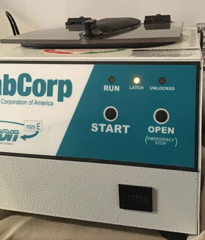 Lab Corp Horizon Mini E Horizontal Centerfuge - FREE SHIPPING! Fast handling!