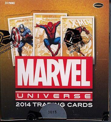 Marvel Universe 2014 Trading Card Box MINT