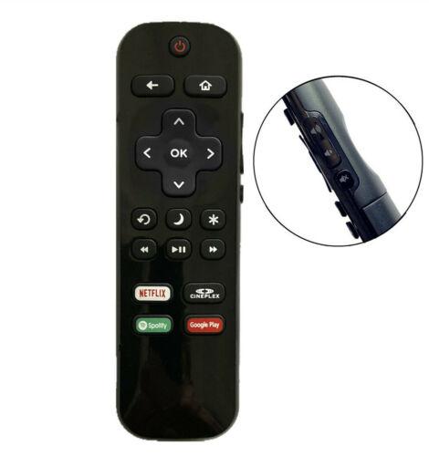 New Remote Ns-rcrus-17 For Insignia Roku Tv Spotify Google Play Netflix Cineplex