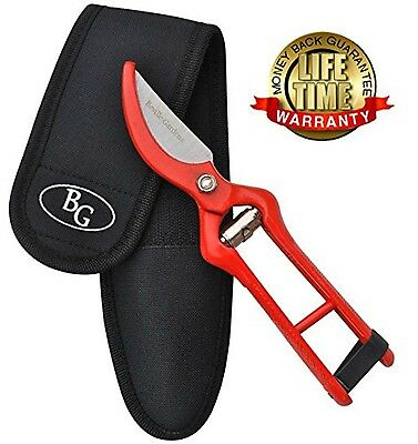 PROFESSIONAL PRUNING SHEARS - Best Heavy Duty Hand Pruners for Serious Garden...