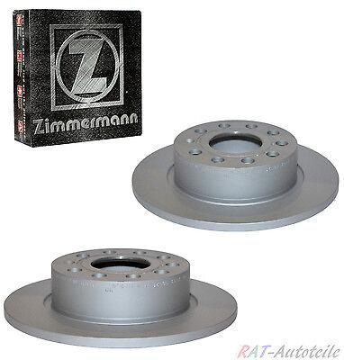 2xZimmermann Bremsscheiben Hinten MERCEDES M-CLASS W163 ML230 ML 320  ML 270 CDI