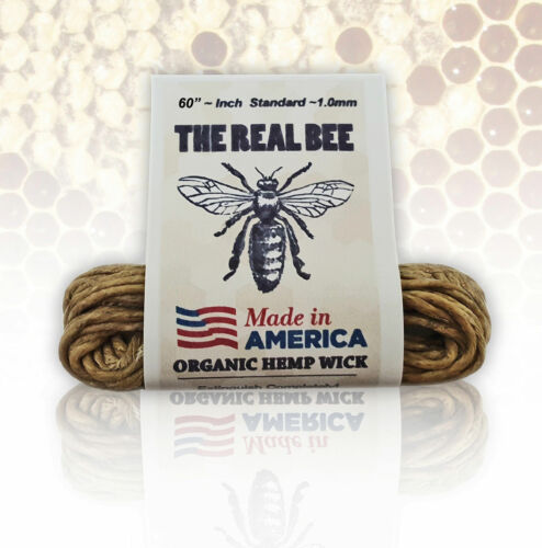 The Real Bee Organic Hemp Wick Line - 5ft - BEST DEAL hempwick $1.89