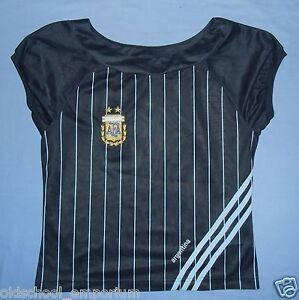 ARGENTINA / FIFA 2006 World Cup - ADIDAS - WOMENS (Ladies) Special Shirt. Size M - Poland, Polska - ARGENTINA / FIFA 2006 World Cup - ADIDAS - WOMENS (Ladies) Special Shirt. Size M - Poland, Polska