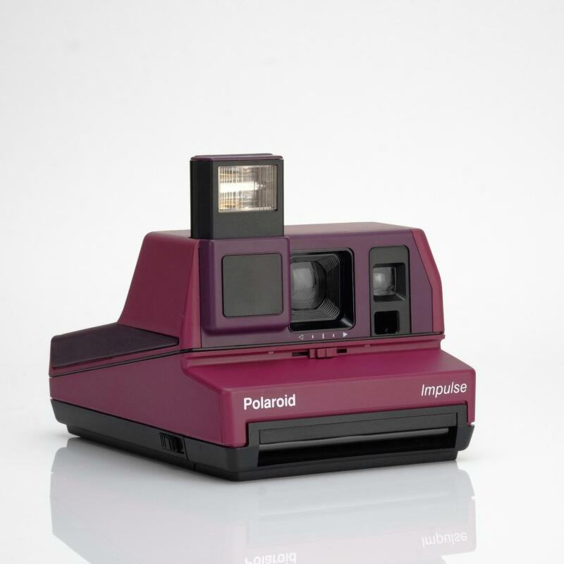 Polaroid 600 Impulse Purple Instant Film Camera