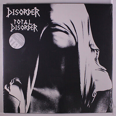 Disorder  Total Disorder Lp Sealed  Uk  2 Lps  Limited Edition Clear Vinyl Reis