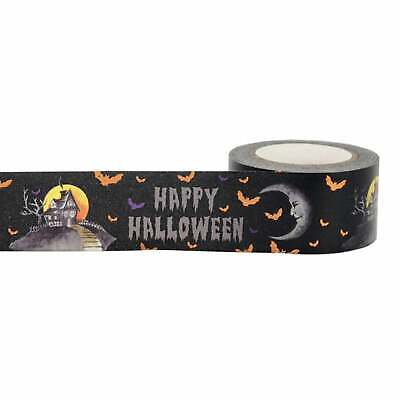 Halloween Party Craft (Halloween Spooky Haunted House Washi Tape Papercraft Planner Supply Party)