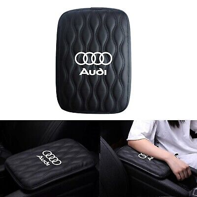 JDM Leather Car Center Console Armrest Cushion Mat Pad Cover For AUDI