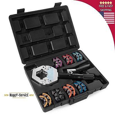 Hose Tool Crimper Hydraulic Crimping Kit 71500 Ac Air Manual Set Hand Fittings