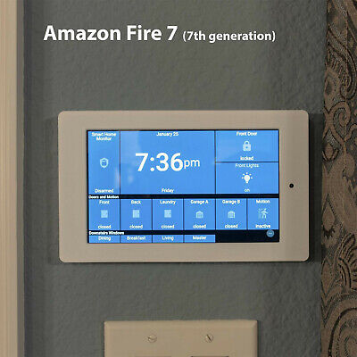 Amazon Fire 7 Tablet Wall Mount (7th generation) White