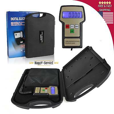 Digital Electronic Refrigerant Charging Scale Meters 220 Lbs With Case Ac Hvac