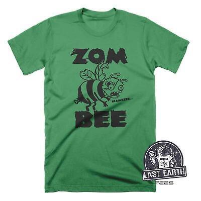 Zombee T-Shirt, Funny Zombie Shirts, Punk Halloween Tees, Mens, Womens, Kids