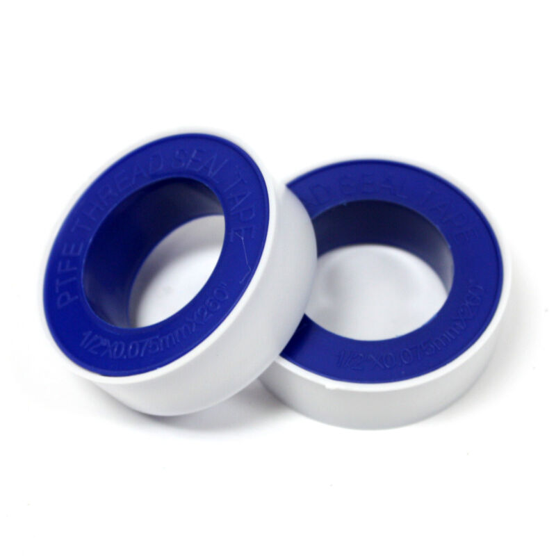 """2 Rolls PTFE Teflon Pipe Fitting Thread Seal Tape 1/2"""" x 260"""" for Plumbing Water"""