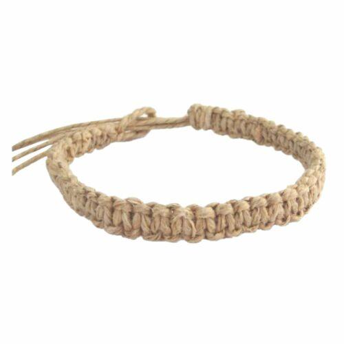 The Hawaiian Jewelry Original Hand Tied Hemp Bracelet / Anklet from Maui Hawaii