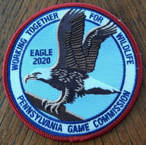 PA PENNSYLVANIA  GAME COMMISION  WTFW 2020 BALD EAGLE  PATCH