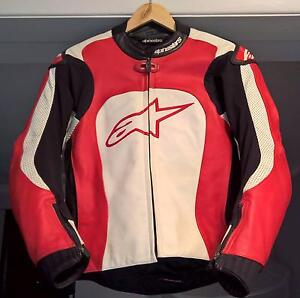Alpinestars Leather Race Motorcycle Jacket, RRP$750 Sydney City Inner Sydney Preview
