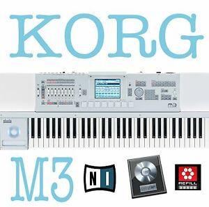 KORG-M3-35GB-STEINBERG-HALION-SAMPLES-also-works-with-REASON-LOGIC-FL-STUDIO