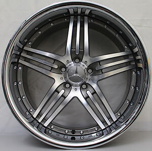 20 inch aftermarket mercedes benz amg modular cl63 style for Mercedes benz 20 inch wheels