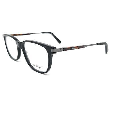 Salvatore Ferragamo Eyeglasses SF2803 001 Black Rectangle Men 54x17x145