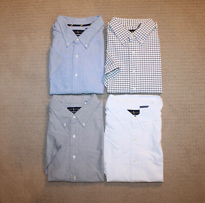 NEW Polo Ralph Lauren Big and Tall Pony Logo Oxford Cotton Short Sleeve Shirt (Big And Tall Cotton Polo Shirt)