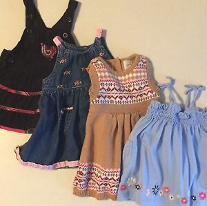 Excellent condition! Baby girl 0-3 month dresses!