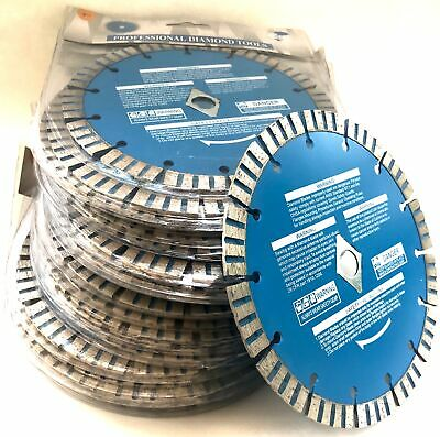 100pk 7'' Diamond Blade for concrete masonry fits DeWalt Makita & SKIL saws Dewalt Concrete Saw