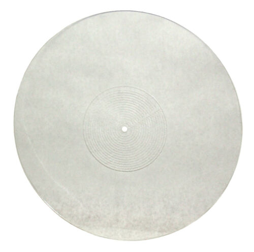 Acrylic Turntable Platter Mat 12 Inches , Clear, Antistatic