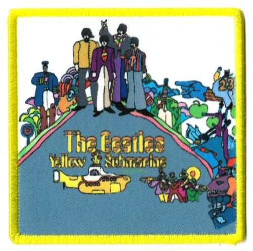 The Beatles Yellow Submarine Album [LP Vinyl Record] Cover Patch [UK Import]