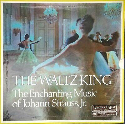 Waltz King Enchanting Music Johann Strauss Jr. Vinyl Record 5x LP Box VG+ RDA19A ()