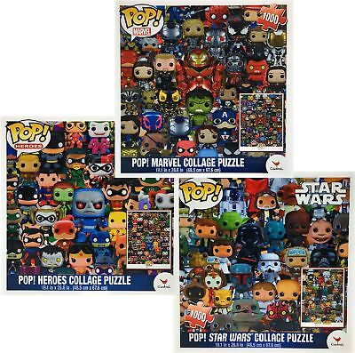 Funko POP! Collage Puzzles  Star Wars, Marvel & Heroes Gift