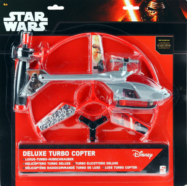 Star Wars The Force Awakens Deluxe Turbo Copter Helicopter Toy uk
