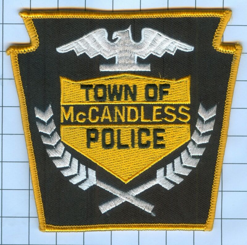 POLICE PATCH - TOWN OF MCANDLESS