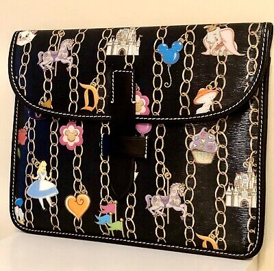 NWT! Dooney & Bourke Disney Parks Charms iPad/Tablet Holder - Great Placement!