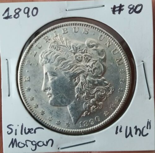 1890 Morgan Silver Dollar MS Uncirculated  - $0.99