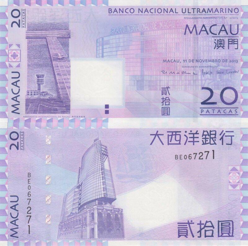 Macao // Macau 10 Patacas 1991 P-65 UNC BNU