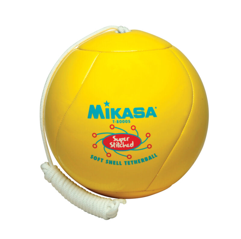 Mikasa Super SoftTouch Tetherball, Yellow