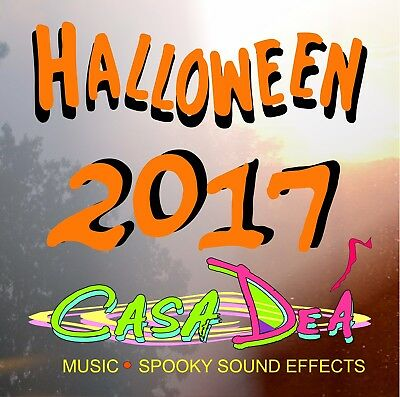 Halloween 2017 CD Scarey good Sound Effects Music And Instrumentals - Casa Dea](Halloween Music 2017)