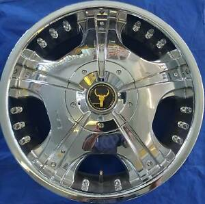 SET OF FOUR (4) OX WHEELS 18x7 10/100-110 et40 OX618 Nambour Maroochydore Area Preview