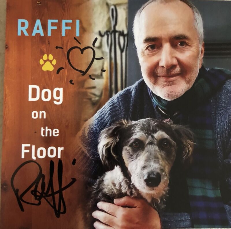 Autographed   RAFFI - Dog On The Floor CD NEW SIGNED