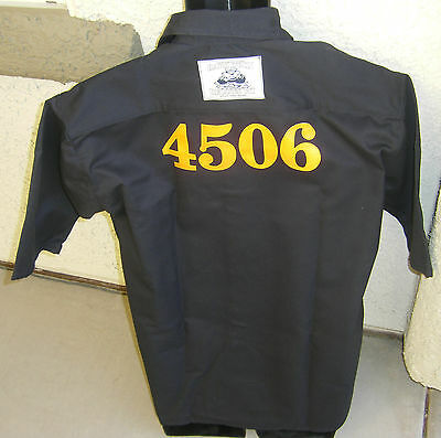Prisoner's shirt with Inmate Offender Number Size 2XL Attention Getter! (Attention Getter)