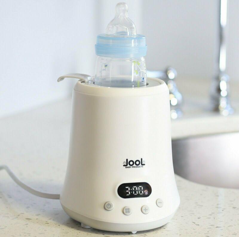Baby Bottle Warmer - Time Chart on Warmer, Heats Milk, Breast Milk, Formula