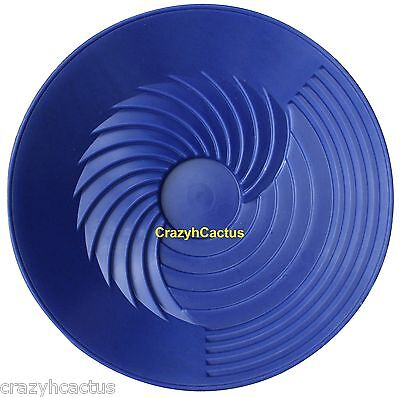 Turbopan Gold Pan Blue 10 Vortex Action Panning Prospecting Sluice Turbo Pan