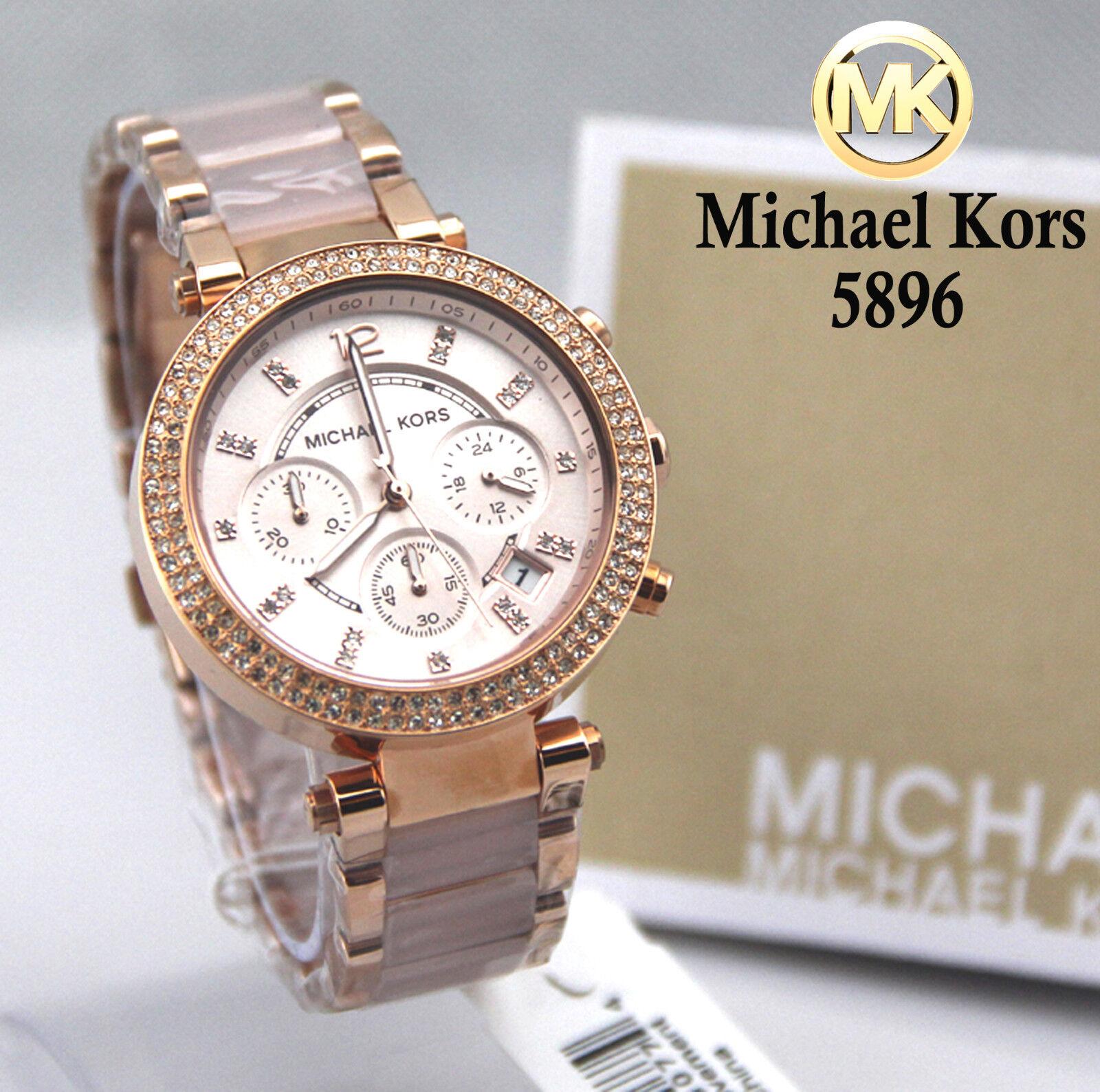Michael Kors Original MK5896 Women's Parker Rose Gold Blush