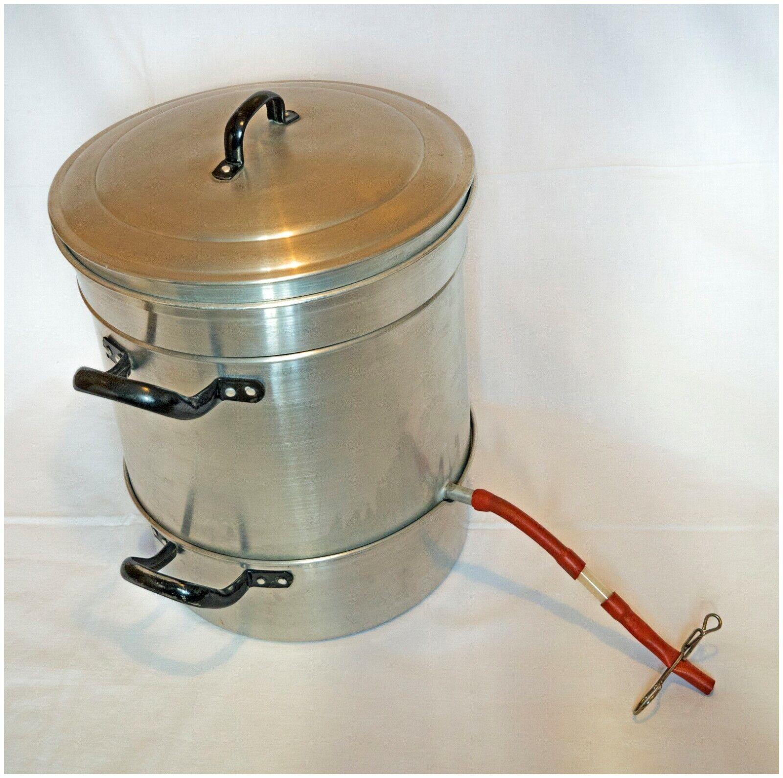 Aluminium-Dampf-Entsafter: Obst entsaften und pasteurisieren, Ø = 30 cm komplett