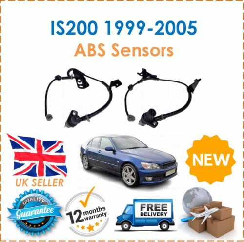 For Lexus IS200 1999-12/2005 2.0 Front Right & Left ABS Anti Lock Brake Sensors