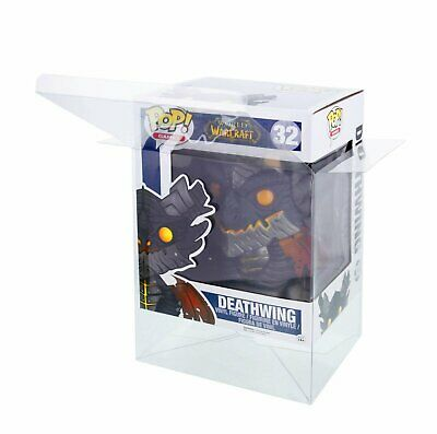 Lot 1 3 30 40 Collectibles Funko Pop Protector Case for 6″ inch Vinyl Figures Bobbleheads, Nodders