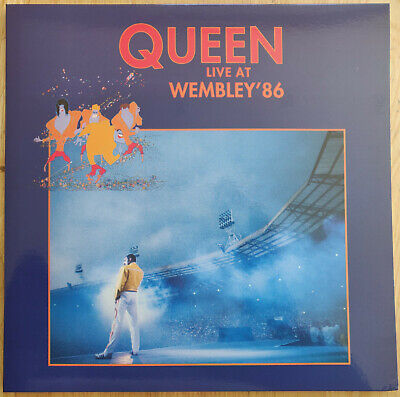 Queen - Live At Wembley '86 Coloured Vinyl LP: Brand New and Unplayed