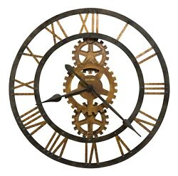 625-517 -THE CROSBY, OVERSIZED 30 INCH WALL CLOCK BY HOWARD MILLER 625517